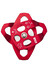 LACD Double Pulley Mobile - Poleas escalada - big ball bearing gris/rojo